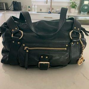 Michael Kors black pebble leather purse